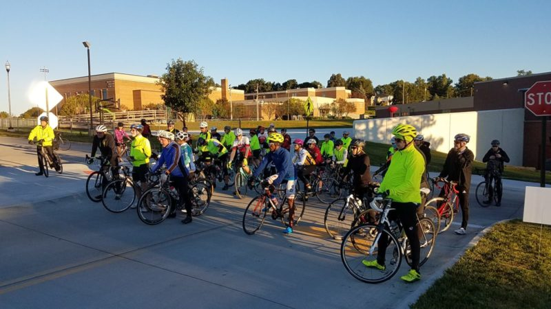 Omaha Connect Riders at the start